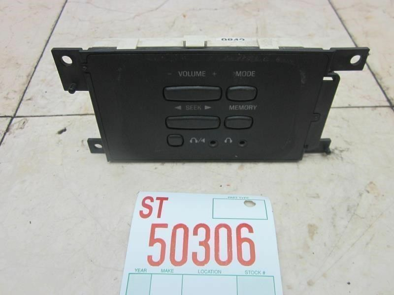 1999-2002 LINCOLN NAVIGATOR REAR FLOOR RADIO CONTROL CLIMATE CENTER OEM