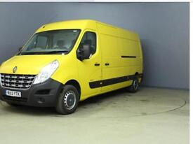 RENAULT MASTER LM35 125DCI S-R, LWB, MED ROOF, 8,000 miles, Yellow, Manual, Dies