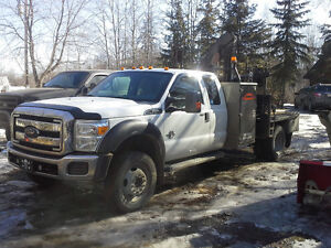 2014 F-550 xlt sc service / knuckle picker truck for sale