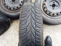 Alloys and tyres. Set of 4
