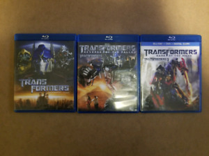 Transformers Trilogy in Bluray $10/All 3