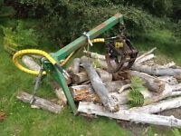 Timber grapple tractor 3 point linkage forestry