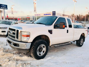 2008 FORD F-350 FX4 DIESEL EXTENDED CAB LONG BOX 4X4