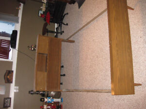 3/4 Sized Bed Frame and Headboard