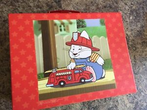 Max and Ruby 2 sided floor puzzle with case