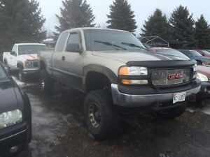 2002 gmc 2 wheel drive 9 inch lift