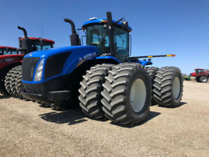 2012 NEW HOLLAND T9.505 4WD TRACTOR