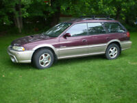 subaru out back 1999,aut,55000 km,$500.00 514 234 9444