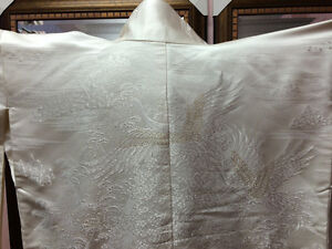 Superb Japanese Wedding Kimono PREMIUM PURE JAPANESE SILK Cambridge Kitchener Area image 1