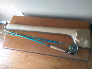 Fly fishing rod and reel