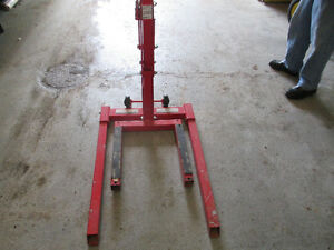 Motorcycle or Snowmobile Lift
