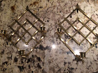 Never tarnish accordion candle holders reduced