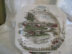 Johnson Brothers The Road Home Square Plate
