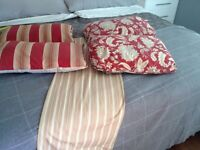 MOVING...Pottery Barn Shower curtain & pillow covers
