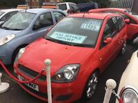 Ford Fiesta 1.25 2006.5MY Style red Cheap Insurance