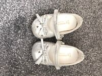 Monsoon baby girl party shoes. Size 2.