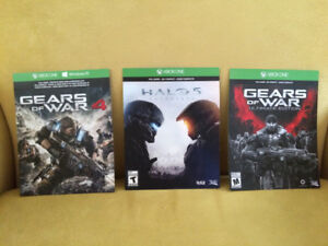 *** 3 XBOX ONE GAMES ONLY 50$!!! ***