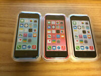 Brand new iPhone 5C/5 16GB Rogers/Telus/Bell/Fido/unlocked