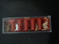 Minature Farm Animals, ho scle new in case