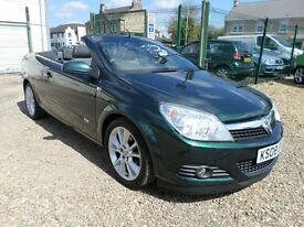 Vauxhall Astra 1.9CDTI 16V TWIN TOP DESIGN 150PS (green) 2008