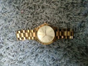 Womens Michael Kors Watch Gold