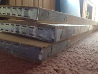 Scaffolding boards/planks (excellent condition)