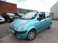 DAEWOO MATIZ XTRA COOL 1.0 PETROL 5 DOOR HATCHBACK LOW MILAGE