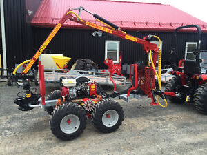 Log loader and Trailers for compact tractors $156.00/M and up St. John's Newfoundland image 12