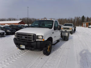 2003 FORD F550 REG. CAB DW CAB & CHASSIS