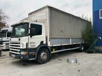 Left Hand drive, Scania 94D, 19 ton, Curtainsider, Man pump & inj, Man Gearbox