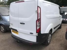 FORD TRANSIT CUSTOM 290 LR VAN White Manual Diesel, 2014 64