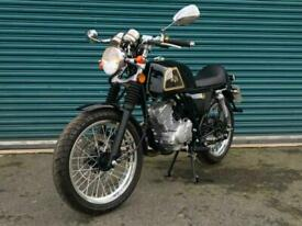 AJS CADWELL 125 Euro 4 EFI, 20 Miles Only From New Classic Cafe Racer Style