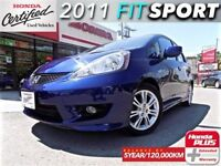 2011 Honda Fit Sport 5MT (1) owner with extended warranty.