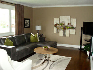 Bright! Spacious! Immaculate! Hot water, Internet, Cable incl.