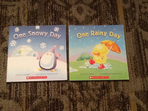 SCHOLASTIC BOOK SET COUNTING NUMBERS COLOUR THEME