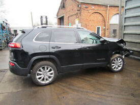 **BREAKING FOR SPARES** 2016 JEEP CHEROKEE M-JET II LIMITED