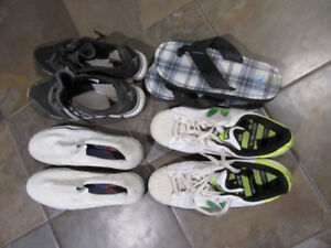 VARIOUS MENS SIZE 10 1/2 FOOTWEAR
