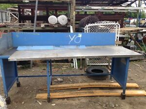 Table acier atelier