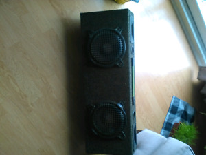 subwoofer 12in, 2 8inch