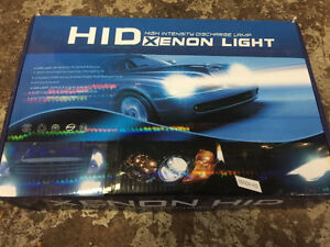 H1 and H7 HID kit