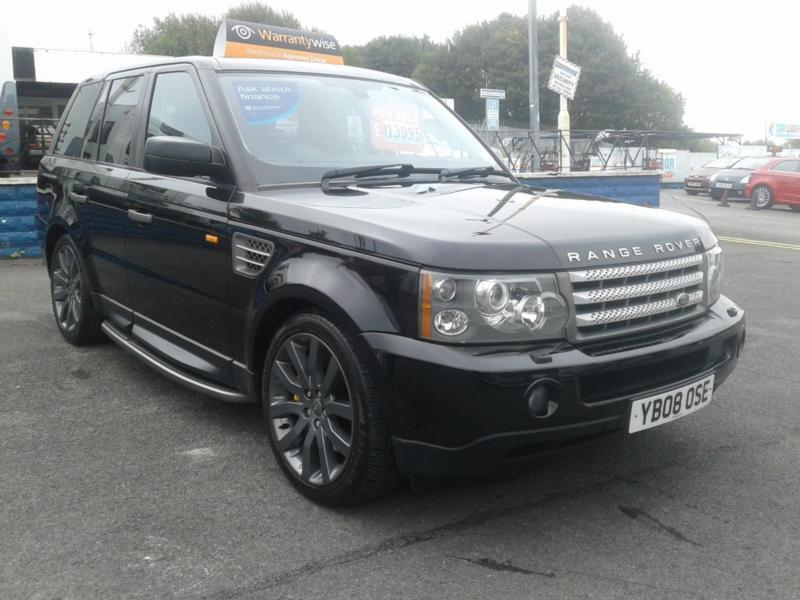 2008/08 Range Rover Sport 3.6 HSE TDV8 FULLY LOADED IMMACULATE CONDITION