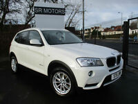 2011 BMW X3 2.0TD ( 184bhp ) Auto 2 xDrive20d SE(SAT/NAV,HEATED LEATHER SEATS)