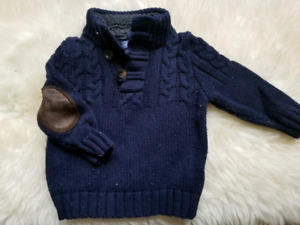 Baby Gap size 12 to 18 months sweater with elbow patches. .