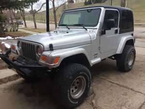 2003 Jeep TJ Coupe (2 door)