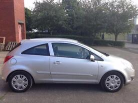 VAUXHALL CORSA 1.2 CLUB,HPI CLEAR,2 OWNERS,1 YEAR M.O.T,2 REMOTE KEYS,A/C,AUX,