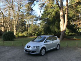 2008 Seat Toledo 1.9 TDI PD Stylance 5 Door Hatchback Grey