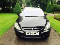 2005 Peugeot 307 1.6 Hdi Panther Black Metallic