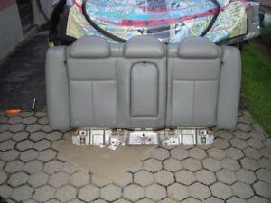 IMPALA GREY LEATHER SEAT BACK  UPHOLSTERY