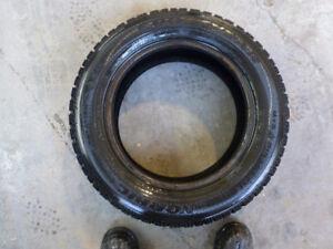 4 pneus hivers à vendre