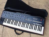 Vintage Korg Polysix analog synthesizer - string machine. (Pro serviced 03/17)